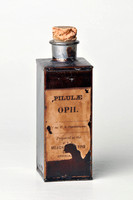 """Pilulae Opii"" Pills of Opium and vial"